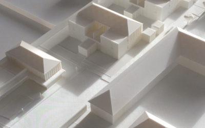 Maquette d'architecte imprimée en 3D