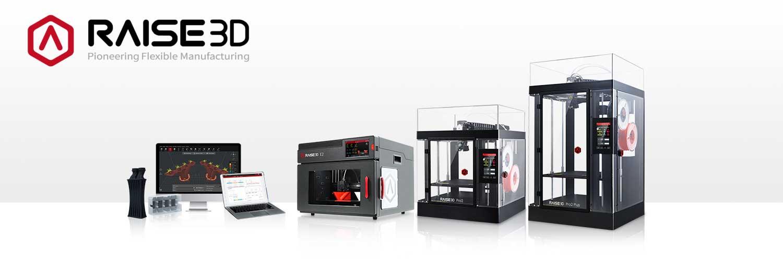 Gamme Imprimantes 3D Raise3D